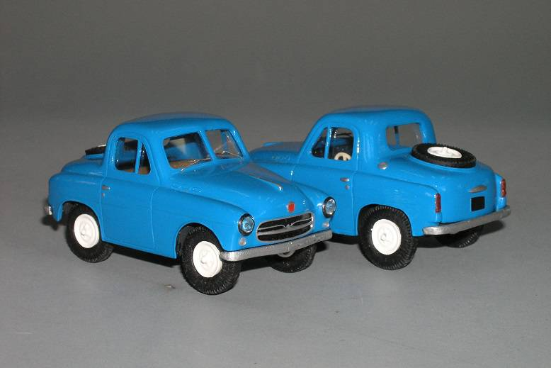 GAZ M73 4x4 coupe 1955 - Vector models