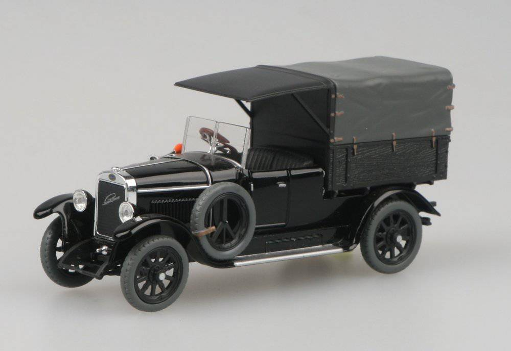 Laurin & Klement Combi Body 1927 černý (Black)