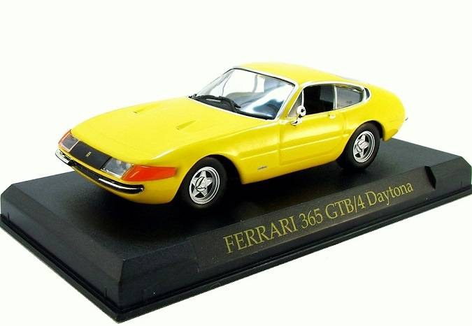 Ferrari 365 GTB/4 Daytona 1:43 Ferrari Collection časopis s modelem