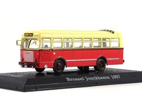 Brossel Jonckheere 1957 časopis s modelem - Bus Collection