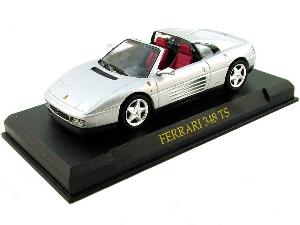 Ferrari 348 TS 1:43 Ferrari Collection časopis s modelem