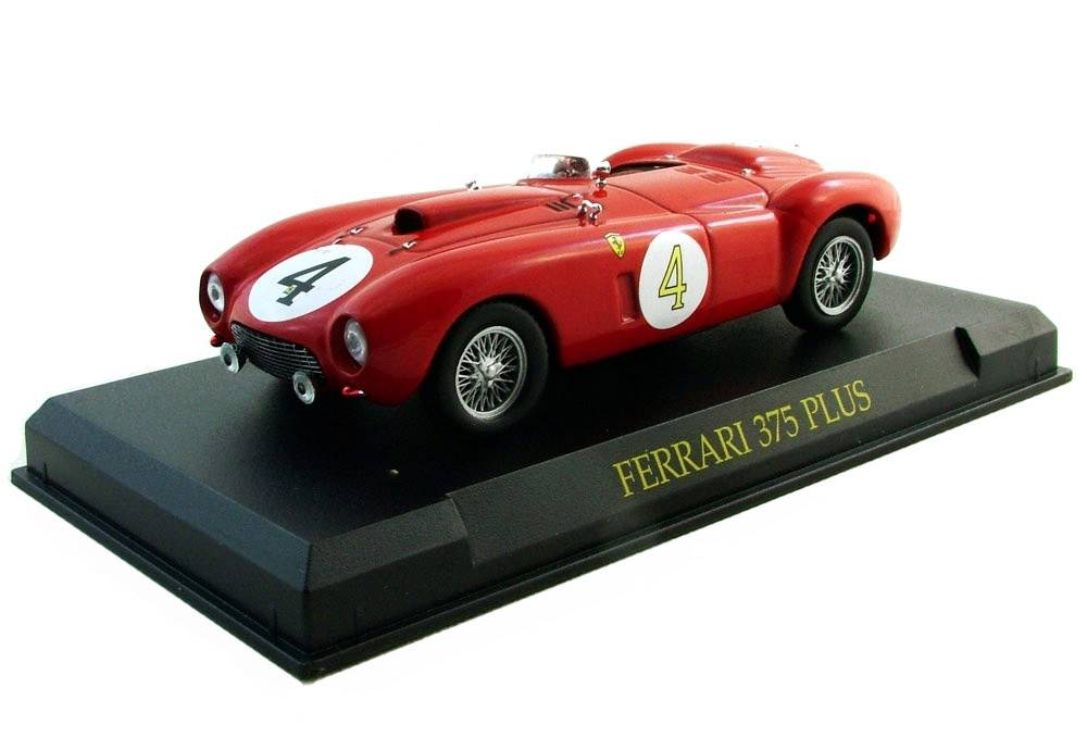 Ferrari 375 Plus 1:43 - Ferrari Collection časopis AutoModels smodelem