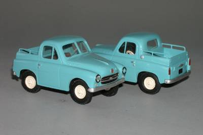 GAZ M73 4x4 pick-up 1955 - Vector models