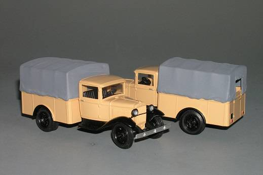 GAZ - AA pick-up plachta Taxi - Vector models