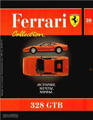 39 - 328 GTB - Časopis Ferrari Collection - bez modelu