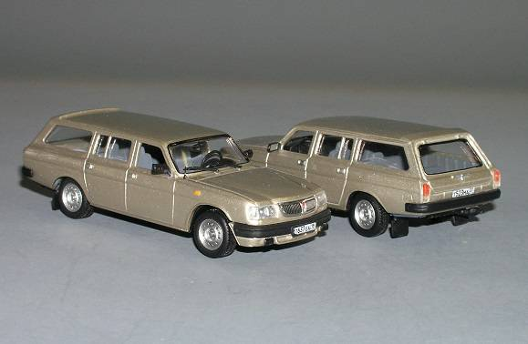 GAZ 310221 rok 1997 - Vector models