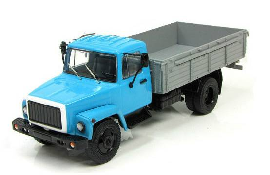 Časopis s modelem - GAZ-3307 - Start Scale Models