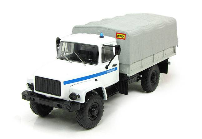 GAZ-3308 Milicija - Start Scale Models