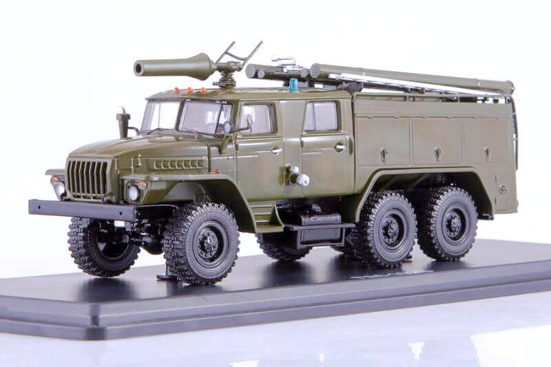 Časopis s modelem -  AC-40 (URAL - 43202) PM-102B - Start Scale Models