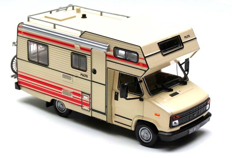 Pilote R 470 Citroen C 25 - 1984 - Hachette - Camping Cars Collection