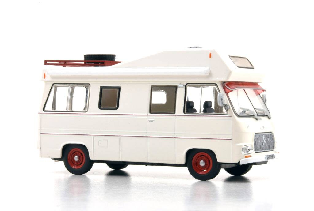 Časopis s modelem Citroen Currus HY - 1972 - Hachette - Camping Cars Collection