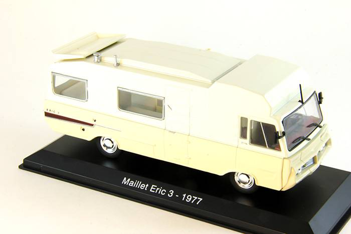 Časopis s modelem Maillet Eric 3 - 1977 - Hachette - Camping Cars Collection