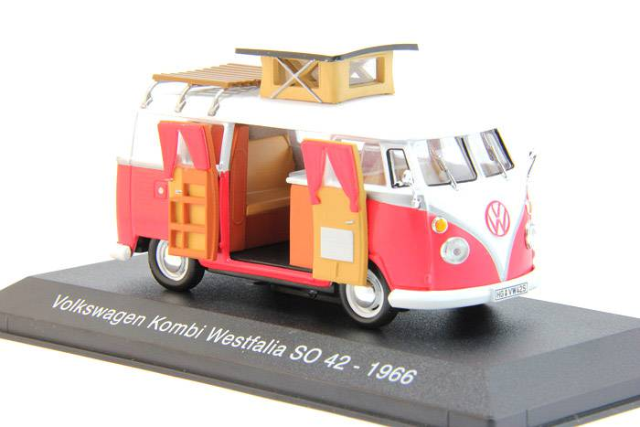 Volkswagen Kombi Westfalia SO 42 1966 - Hachette - Camping Cars Collection