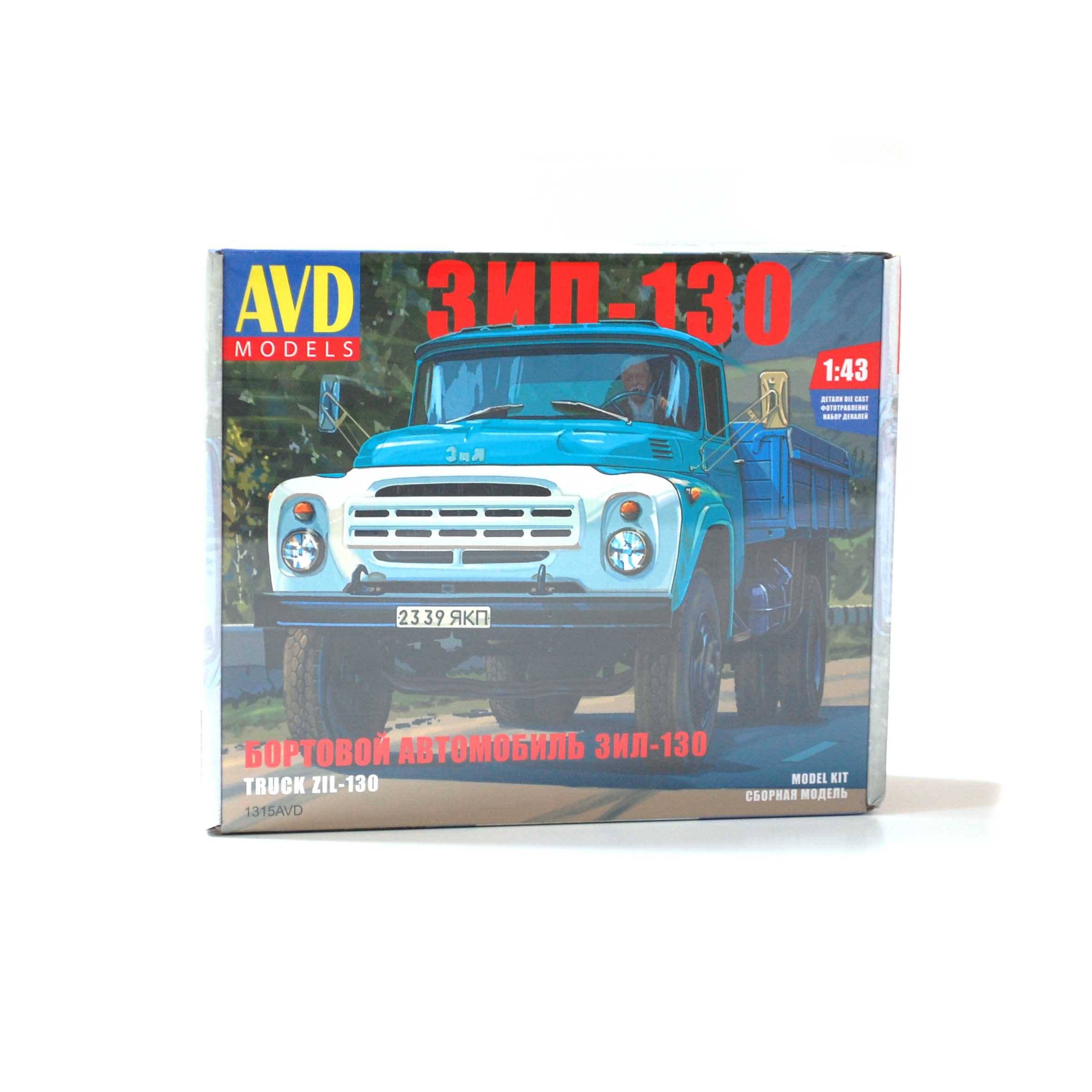 Zil-130 - model AVD KIT 1:43 -10-AVDZIL130143