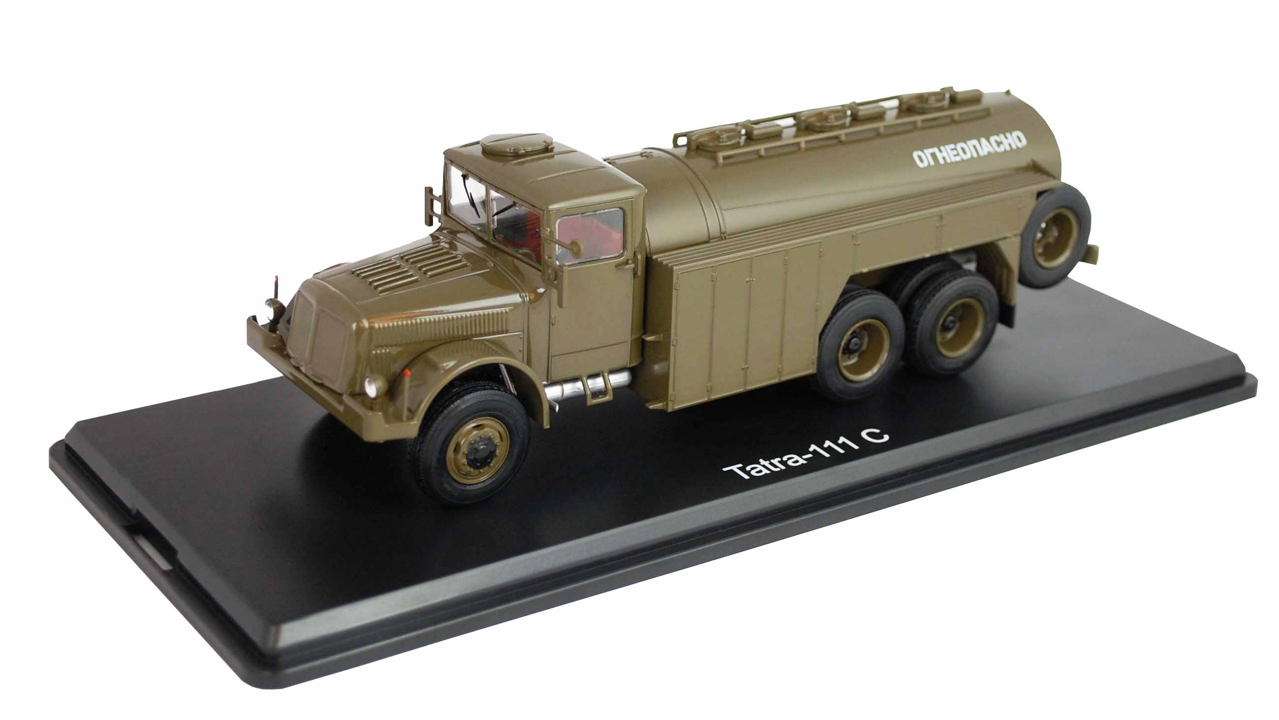 Tatra 111 C cisterna - SSM - Start Scale Models