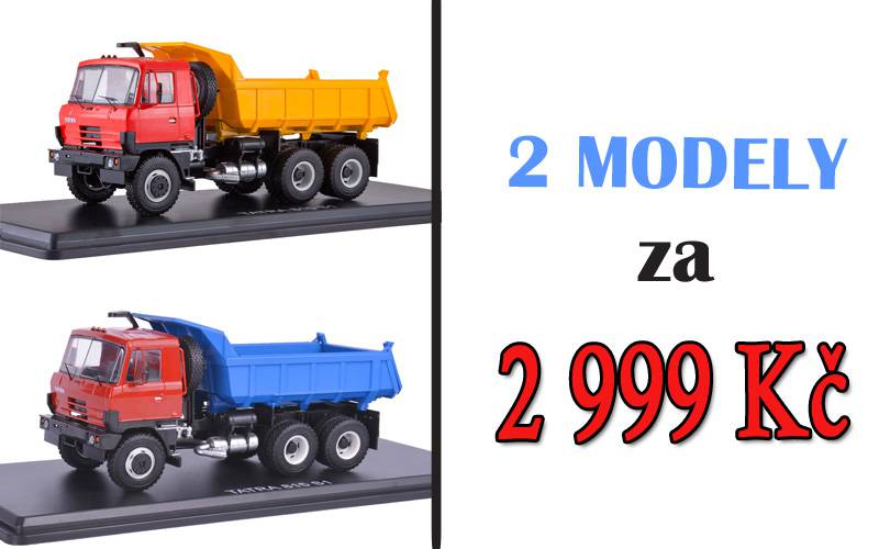 2 modely Tatra - 815 S1 - SSM - Start Scale Models