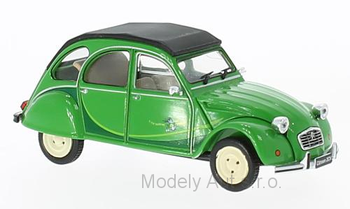 Citroen 2CV - 1986 - 1:43 WhiteBox časopis s modelem