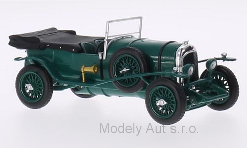 Bentley 3 Litre - 1924 časopis s modelem - WhiteBox