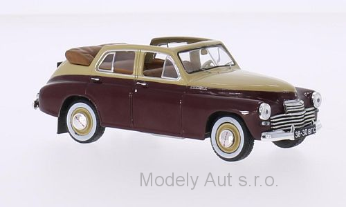 GAZ M20 Pobeda Cabriolet - 1950 - WhiteBox