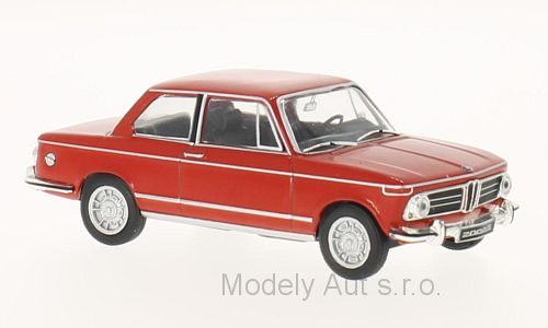 BMW 2002 ti - 1968 - časopis s modelem WhiteBox