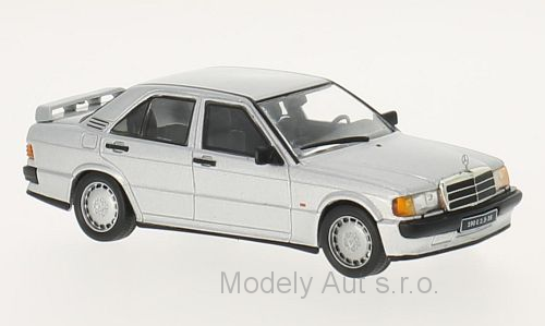 Mercedes 190E 2.3 16V - 1988 1:43 - WhiteBox časopis s modelem
