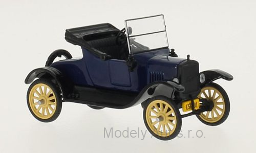 Ford T Runabout - 1925 1:43 - WhiteBox časopis s modelem