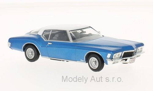 Buick Riviera Coupe - 1972 1:43 WhiteBox časopis s modelem