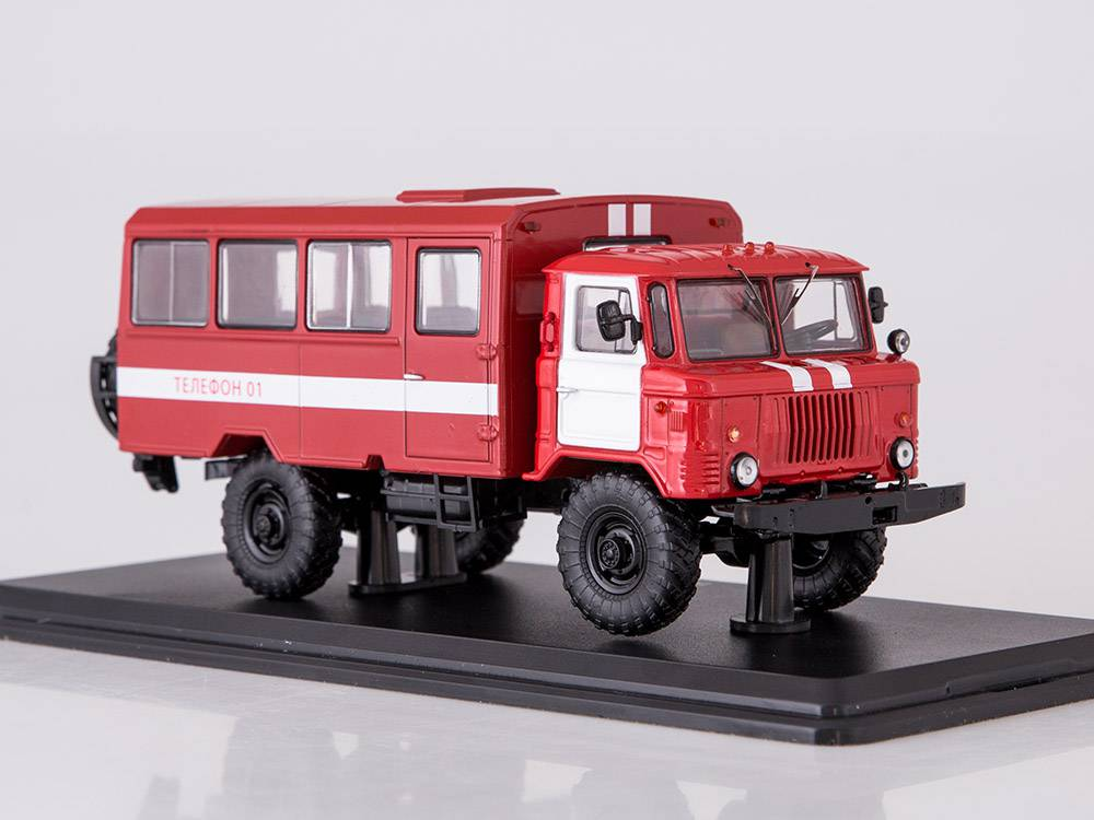 Časopis s modelem - GAZ-66 - Start Scale Models