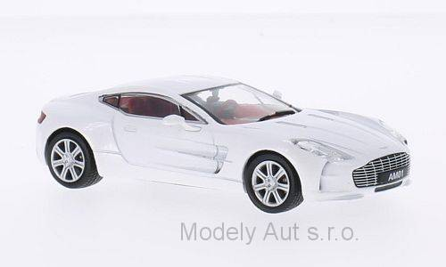 Aston Martin One-77 - 2010 časopis s modelem - WhiteBox