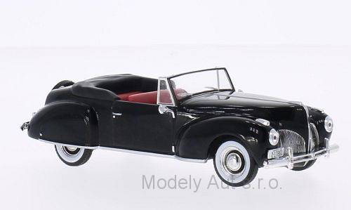 Lincoln Continental - 1939 časopis s modelem - WhiteBox