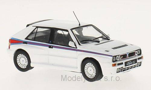 Lancia Delta Integrale Martini - 1992 časopis s modelem - WhiteBox