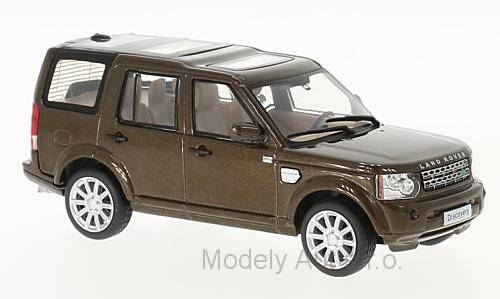 Land Rover Discovery 4 - 2010 1:43 časopis s modelem - WhiteBox