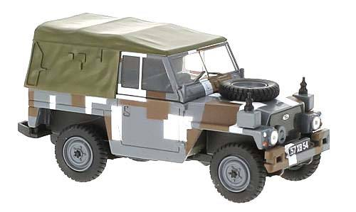 Land Rover Lightweight Canvas RHD Berlin Scheme časopis s modelem - Oxford