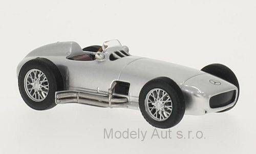 Mercedes W 196 - 1954 1:43 - časopis s modelem WhiteBox