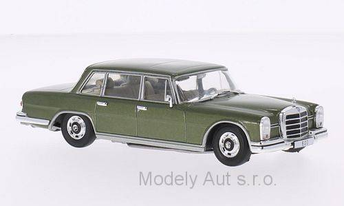 Mercedes 600 (W100) - 1964 1:43 - WhiteBox časopis s modelem