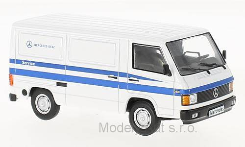 Mercedes MB 100, Mercedes Benz Service - 1988 časopis s modelem - WhiteBox