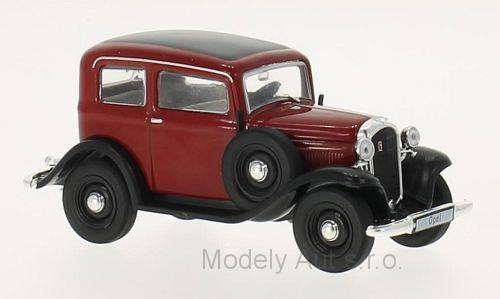 Opel P4 - 1935 1:43 - WhiteBox časopis s modelem - WhiteBox