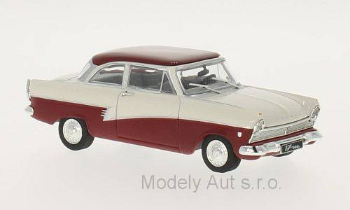 Ford Taunus 17m (P2) - 1957 časopis s modelem - WhiteBox