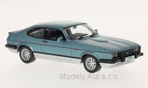 Ford Capri MKIII 2.8 Injection - 1982 1:43 - WhiteBox časopis s modelem