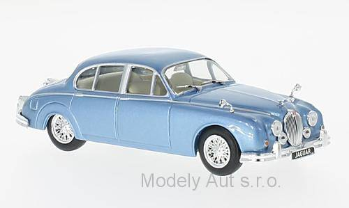 Jaguar MK II - 1960 1:43 - WhiteBox časopis s modelem