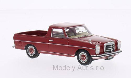 Mercedes 220D Binz (W115) Pick Up časopis s modelem - BoS-Models