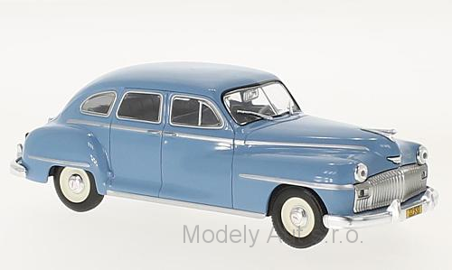 Desoto 4-Door Saloon - 1946 - časopis s modelem  WhiteBox