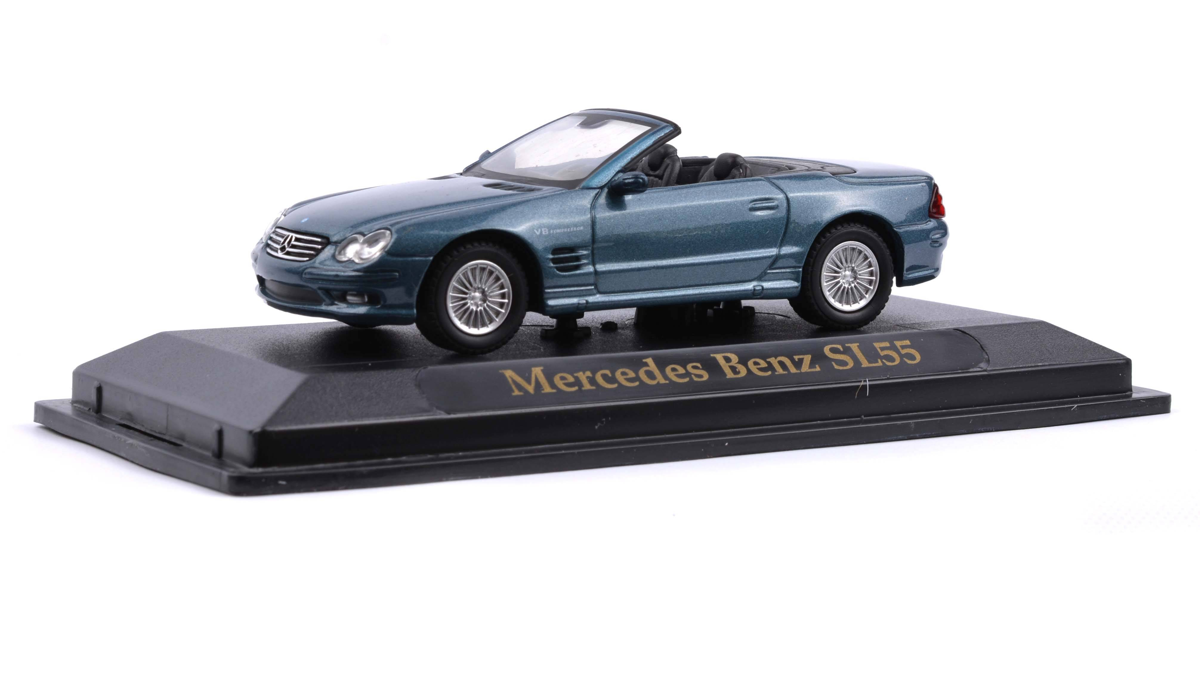 Mercedes Benz SL55 časopis s modelem - Road Signature Collection