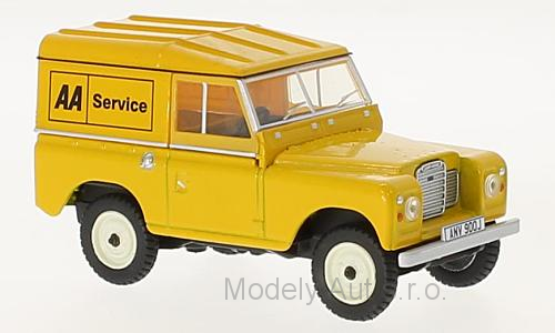 Land Rover Series III SWB Hard Top AA Service časopis s modelem - Oxford
