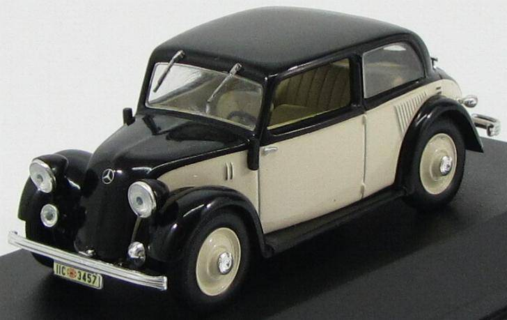 Mercedes 130 (W23) - 1939 - časopis s modelem  WhiteBox
