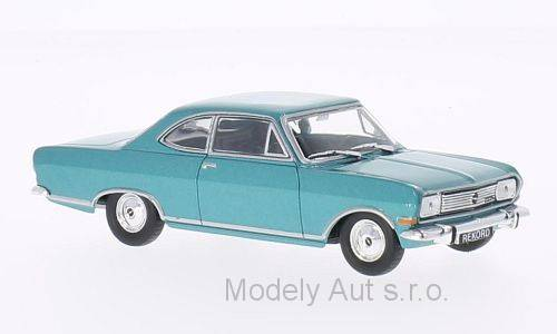 Opel Rekord B Coupe - 1965 1:43 - WhiteBox časopis s modelem
