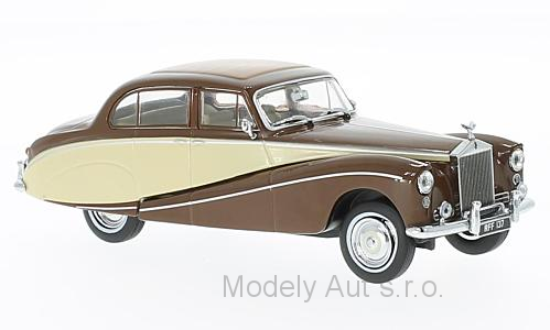 Rolls Royce Silver Cloud Hooper Empress 1:43 - Oxford časopis s modelem
