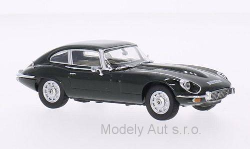 Jaguar E-Type V12 Coupe 1:43 OXFORD časopis s modelem