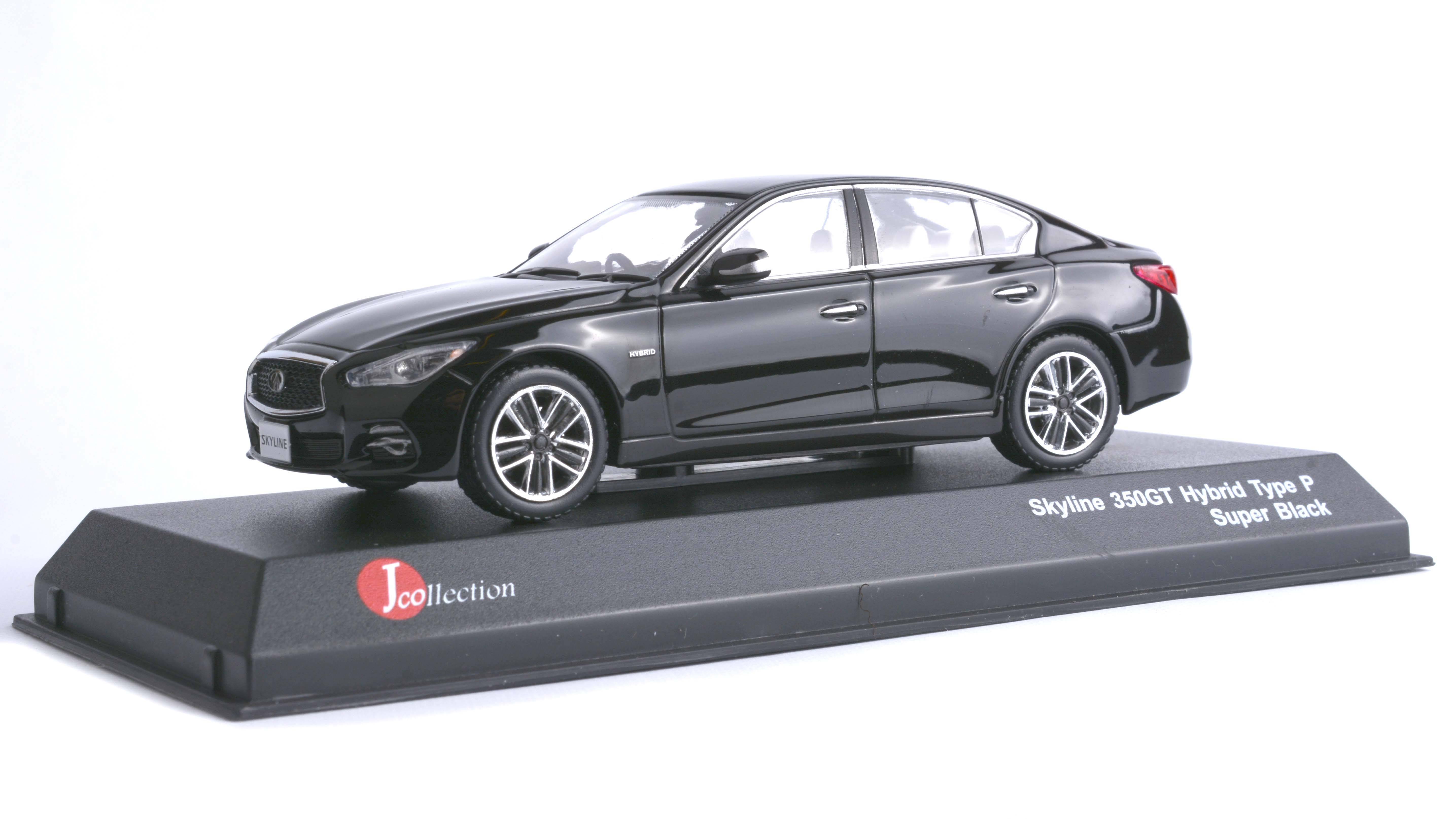 Nissan Skyline 350GT Hybrid Type P 1:43 - Jcollection časopis s modelem