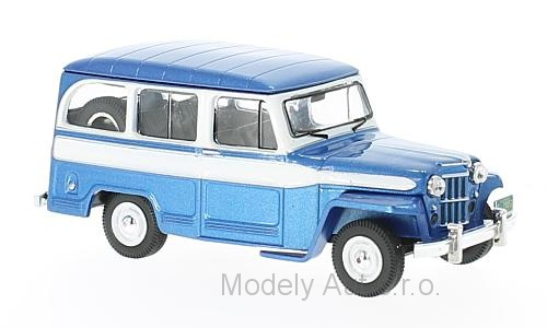 Jeep Willys Station Wagon - 1960 1:43 - IXO časopis s modelem
